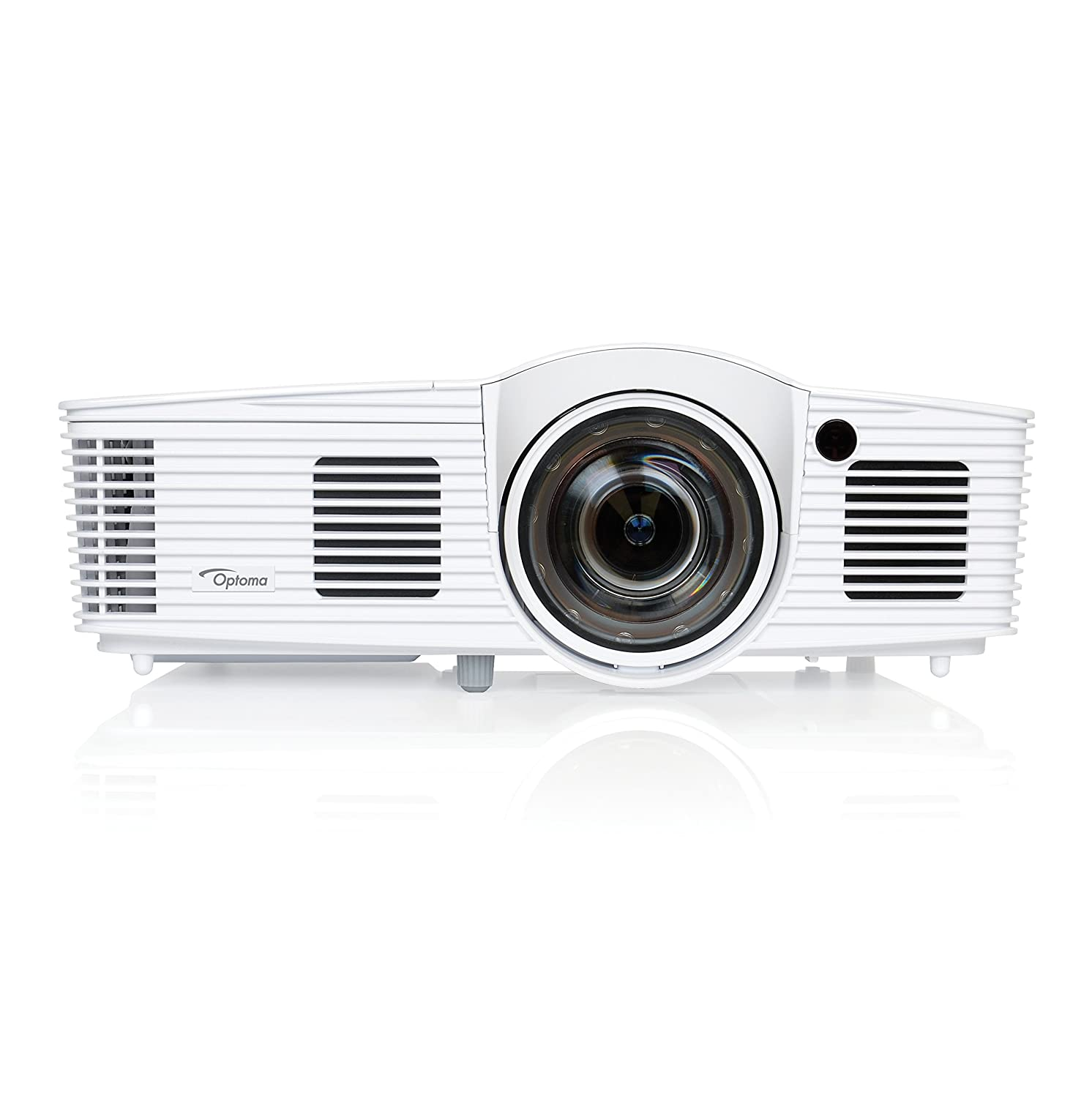 Optoma EH200ST Full 3D 1080p 3000 Lumen DLP Short Throw Projector with 20, 000:1 Contrast Ratio and MHL Enabled HDMI Port Optoma Canada