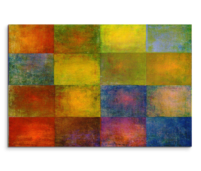 Amazon.de: Paul Sinus Art 150x50cm Leinwandbild auf Keilrahmen Kunst ...