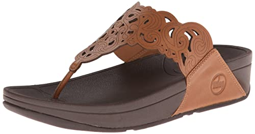 cb26616aba9 Fit Flop Women s Aztec Chada Leather Slippers  Buy Online at Low ...