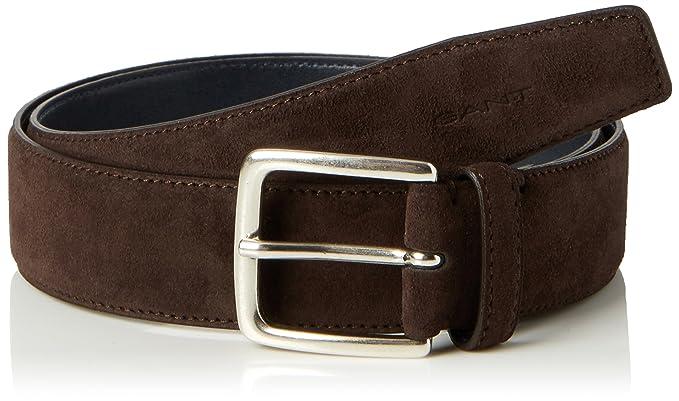737f8358c0b1 GANT Men s Classic Suede Belt (Rich Brown), NA (Size  32