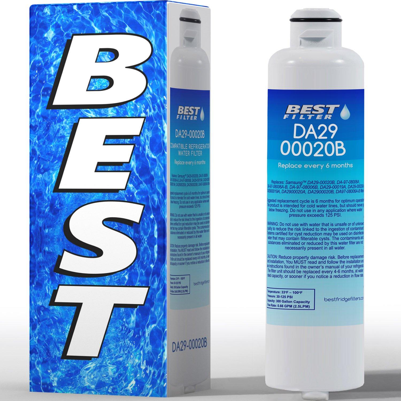 Best DA29-00020B Water Filter for Samsung Refrigerators
