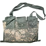 Military Outdoor Clothing Previously Issued US GI ACU MOLLE II 6 Mag Bandoleer Pouch