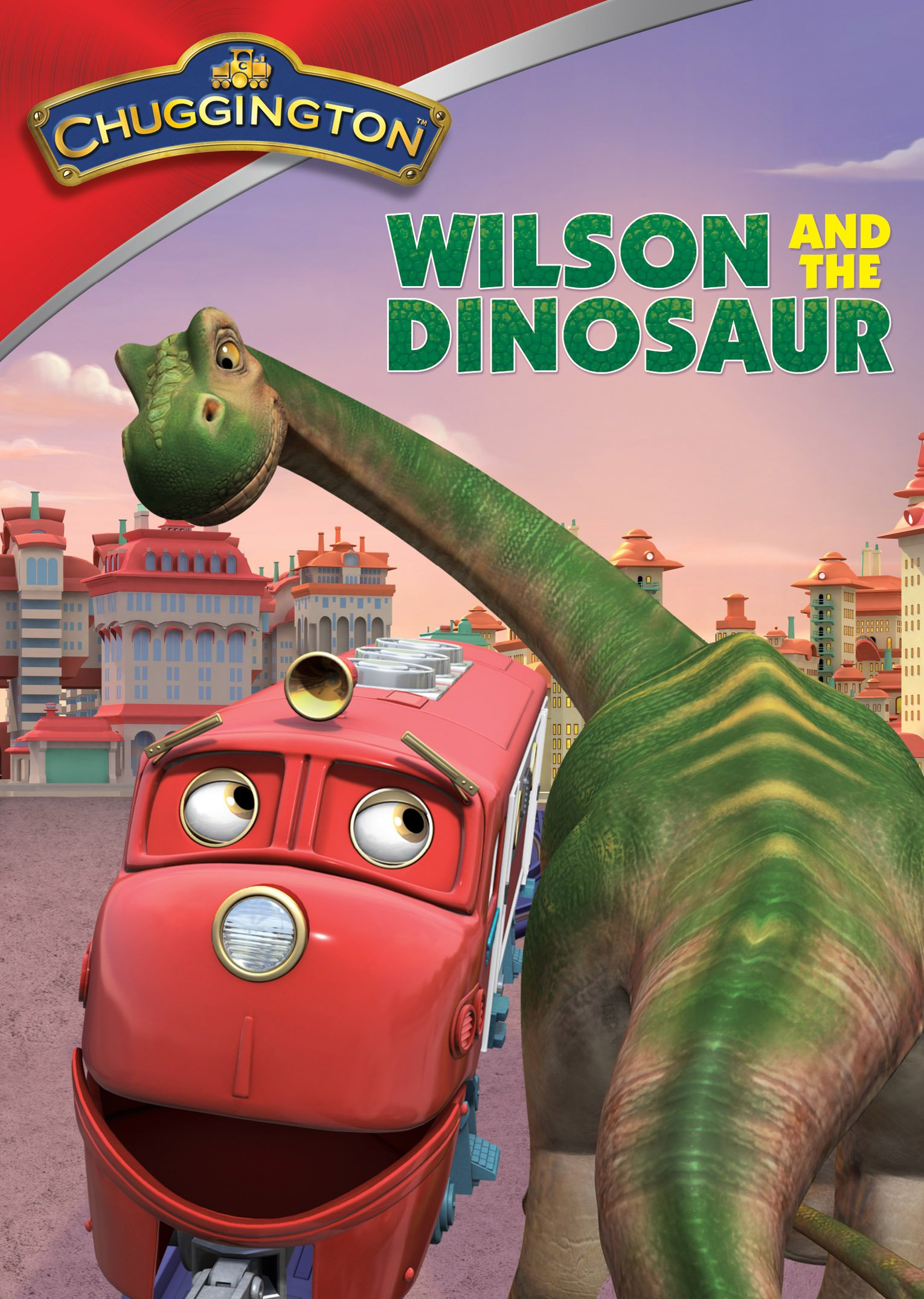 DVD : Chuggington: Wilson and the Dinosaur (DVD)