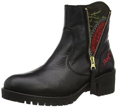 Desigual Women's SHOES ASPEN REP Unlined Chelsea boots half length