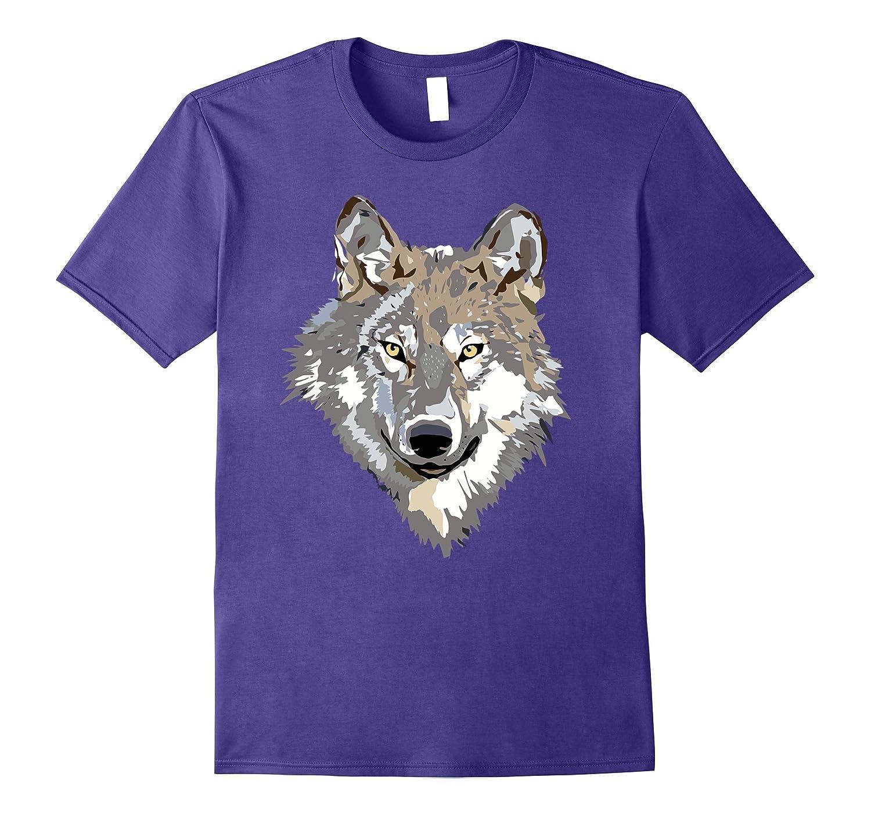 Beautiful Gray Wolf T Shirt-FL