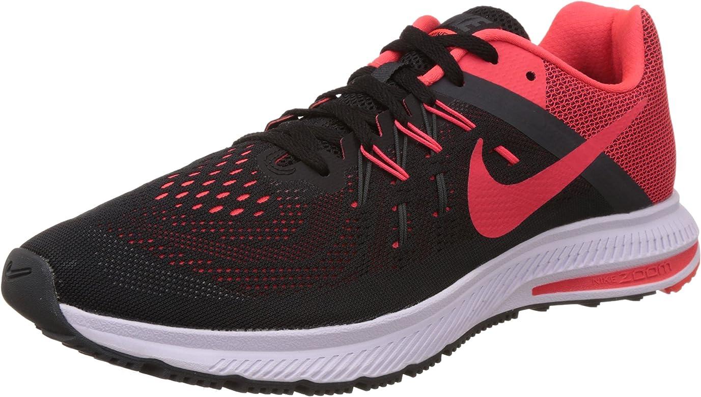 Nike Zoom Winflo 2, Zapatillas de Running para Hombre, Negro ...