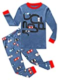 Amazon Price History for:Family Feeling Truck Little Boys Kids Pajamas Sets 100% Cotton Pjs Toddler