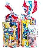 Tastes Double Trouble des Etats! 2 Sacs X All American Bonbons cadeaux. 2 sacs plein de bonbons américaine excitante!