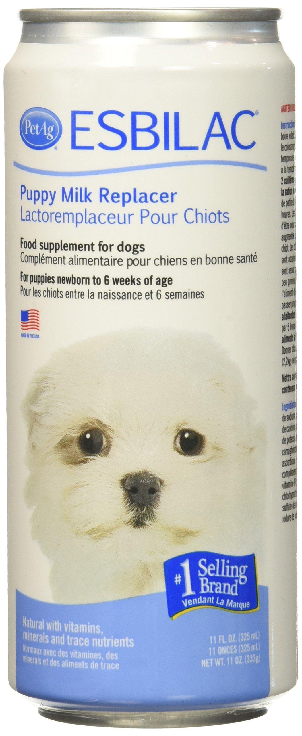 Esbilac (6 Pack) Liquid for Puppies, Milk Replacer - 11 Ounces Each by Esbilac