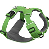 Ruffwear All Day Adventure Dog Harness, Large to Very Large Breeds, Adjustable Fit, Size: Large/X-Large, Meadow Green, Front Range Harness, 30501-345LL1