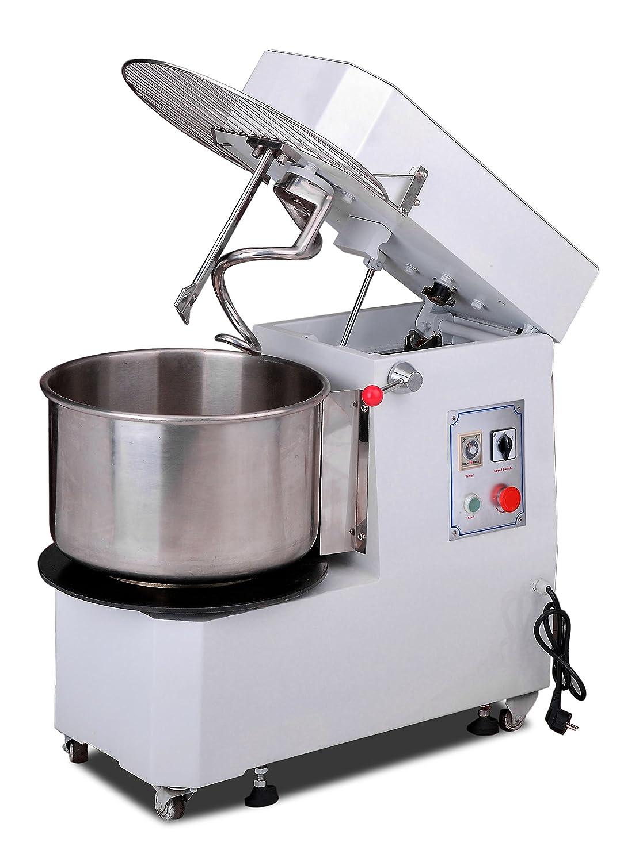 Hakka Commercial 30 Qt. Spiral Dough Mixer -220V/60Hz Phase 3 (30 Qt Spiral Mixer)