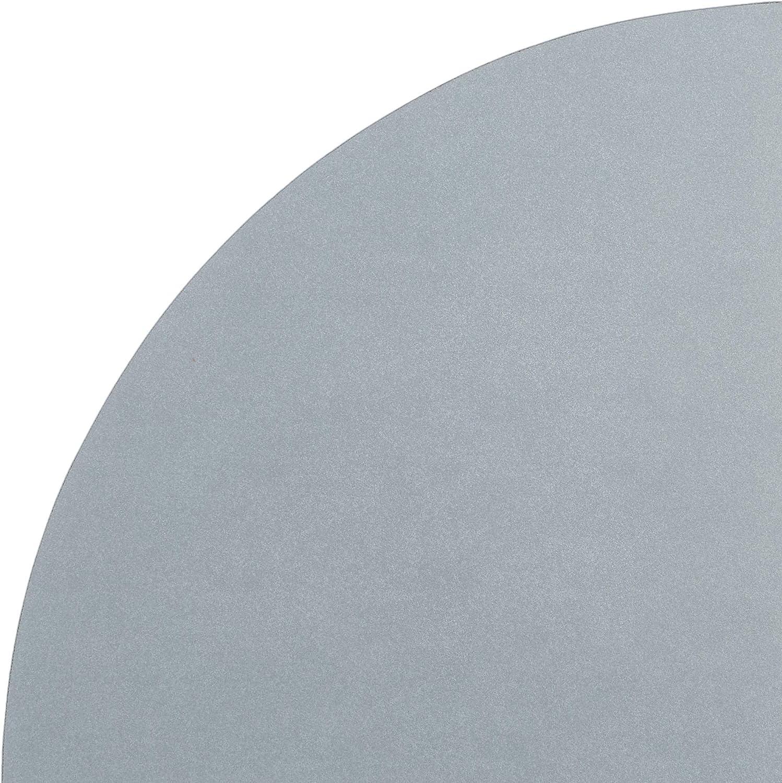 botonera de part/ículas HOMEA 6RAN795GC estanter/ía Flotante de Esquina aglomerado 35x35x3.4 cm Plata