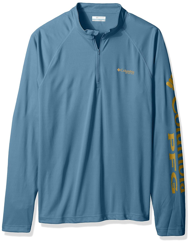 Columbia Men's Terminal Tackle 1/4 Zip Shirt Columbia (Sporting Goods) 12345465646