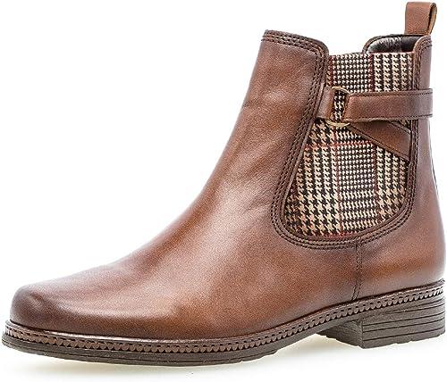 Gabor Damen Stiefelette, Frauen Chelsea Boots