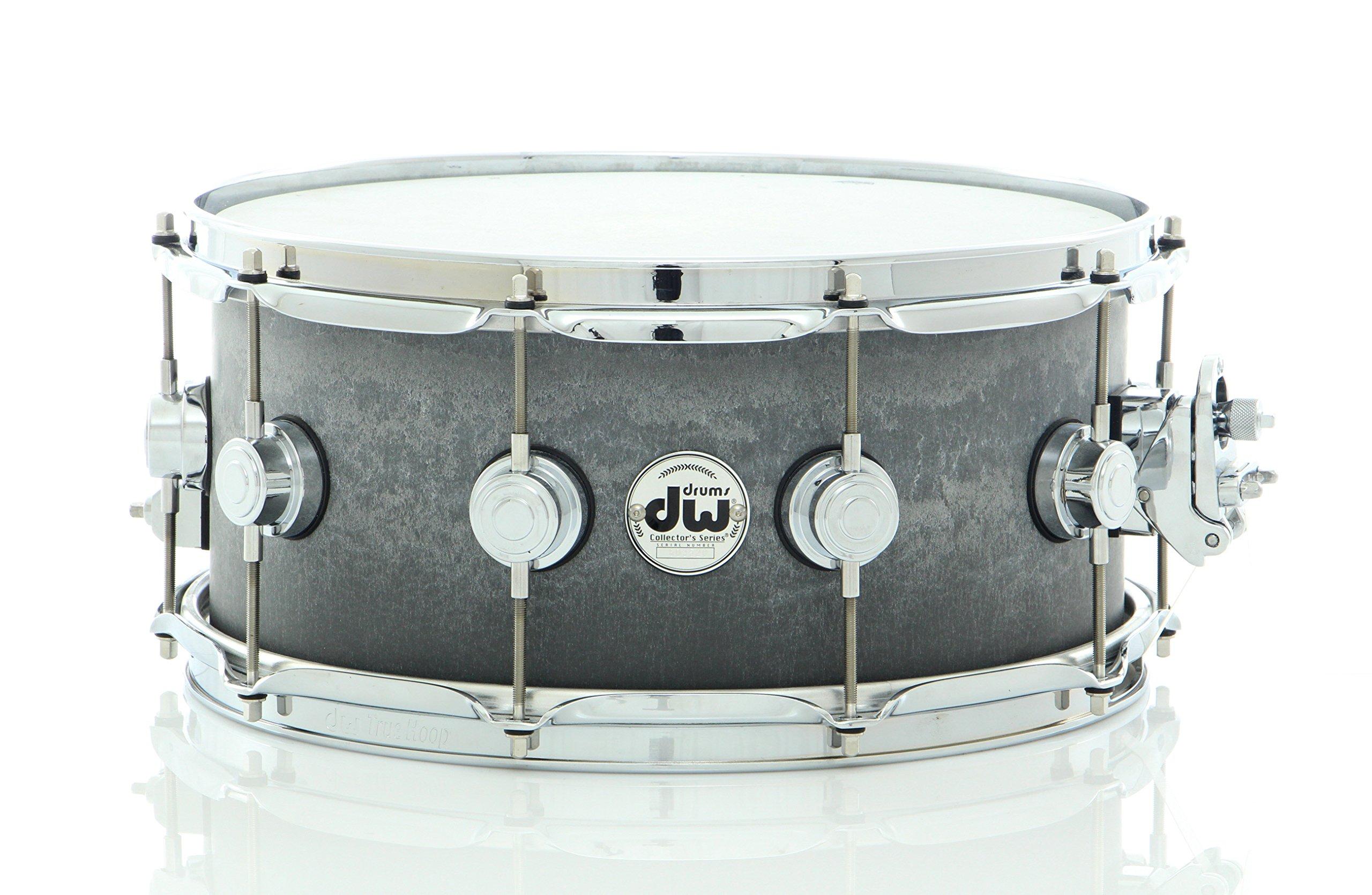 DW Concrete Snare Drum 14 x 6.5 in. Satin Chrome Hardware