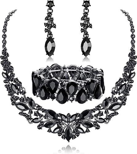 earrings U chain 38 cm Star Points Jewelryset Children