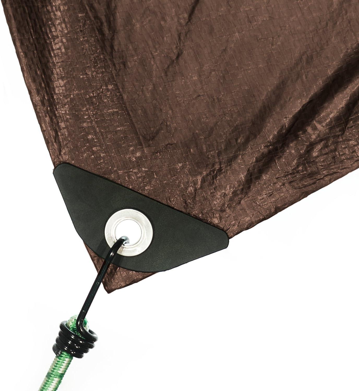 Stansport Reforzado marrón Rip-Stop Lona, marrón: Amazon.es ...
