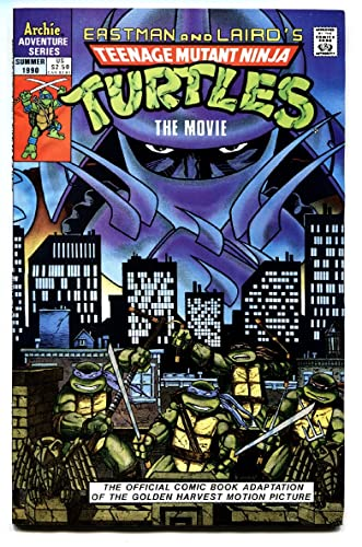 Amazon.com: TEENAGE MUTANT NINJA TURTLES The Movie Comic ...