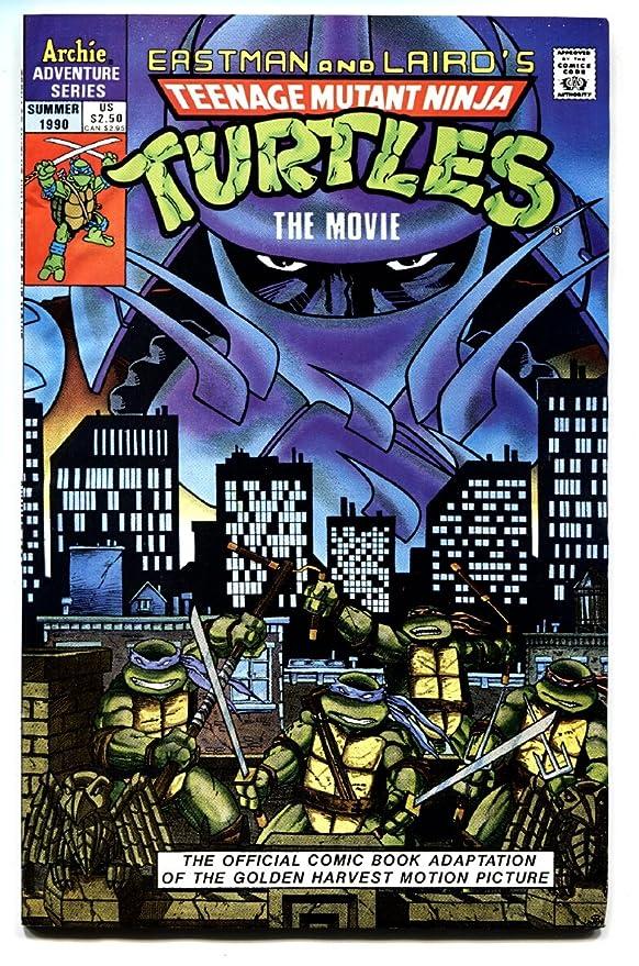 Amazon.com: TEENAGE MUTANT NINJA TURTLES The Movie Comic ...