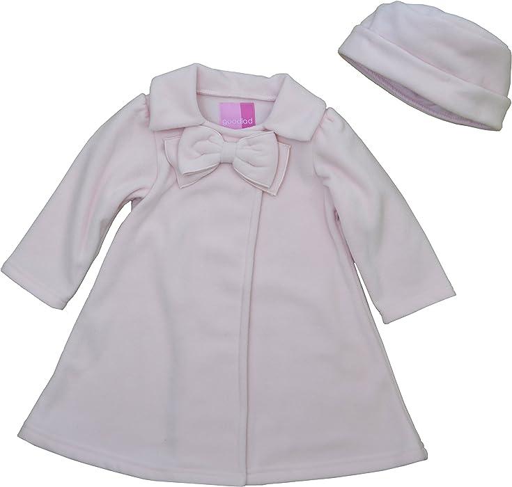 50ae63322 Amazon.com  Good Lad Fleece Coat Jacket 3-6 Pink  Clothing
