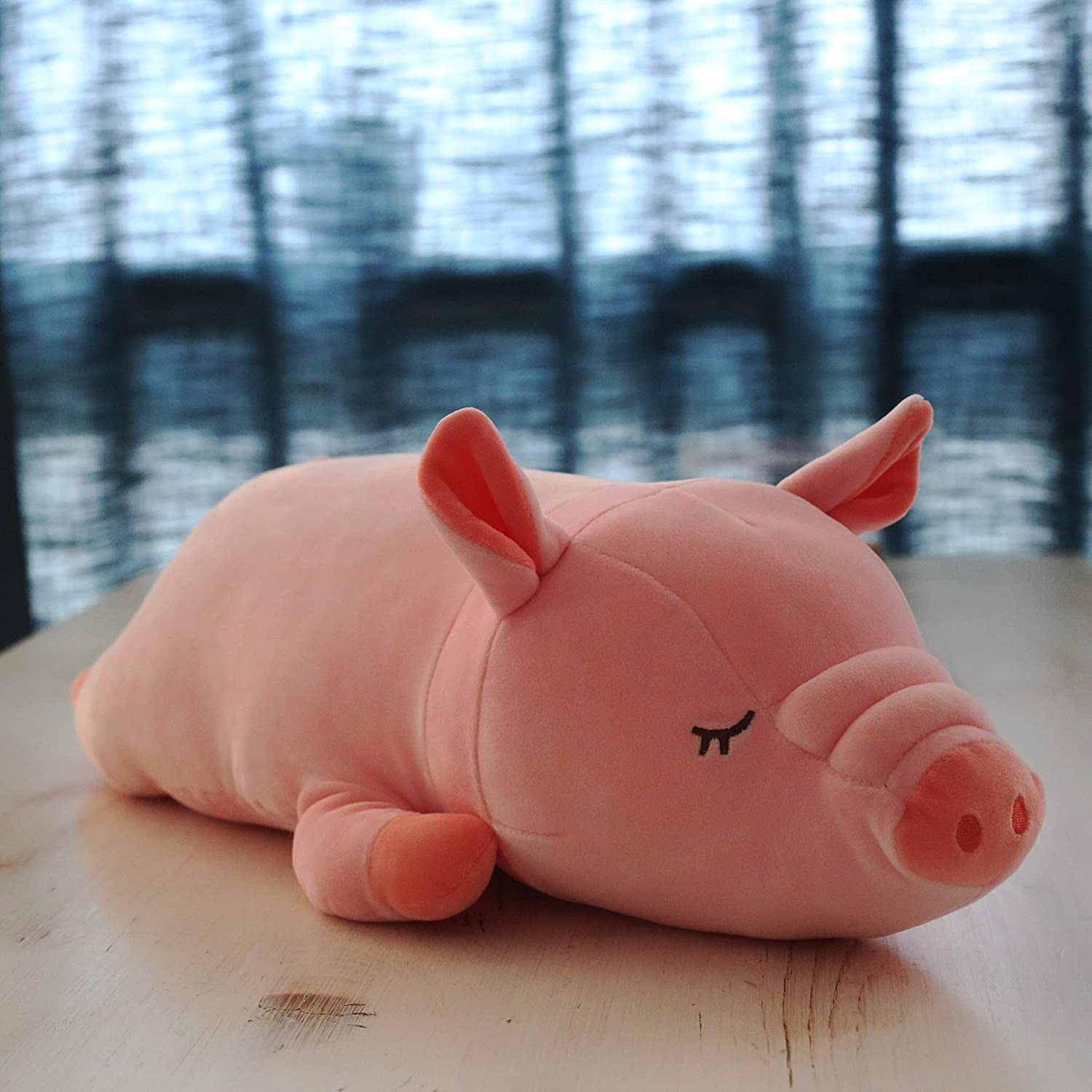 70 Cm pink Schwein DONGER Puppe Pulver Schwein Kissen Freundin Puppe Geburtstagsgeschenk, pink Zerschmetterndes Schwein, 70 cm