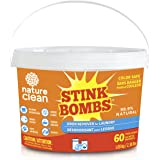 Nature Clean Stink bombs odor remover packs, 60 Count