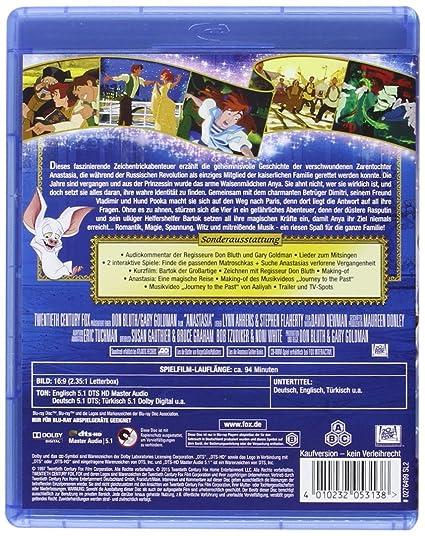 Anastasia [Alemania] [Blu-ray]: Amazon.es: Cine y Series TV