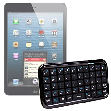 DURAGADGET Teclado Inalámbrico Para El Nuevo Apple iPad Mini Con Pantalla Retina & iPad Mini Celular