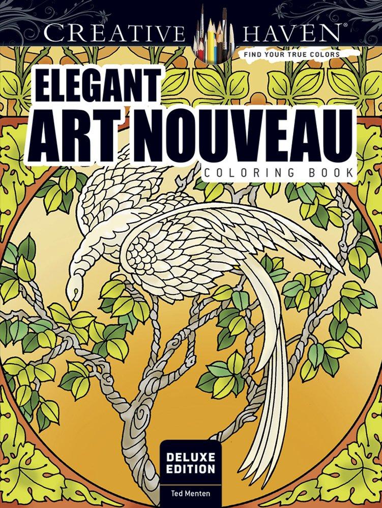 Creative Deluxe Elegant Nouveau Coloring product image