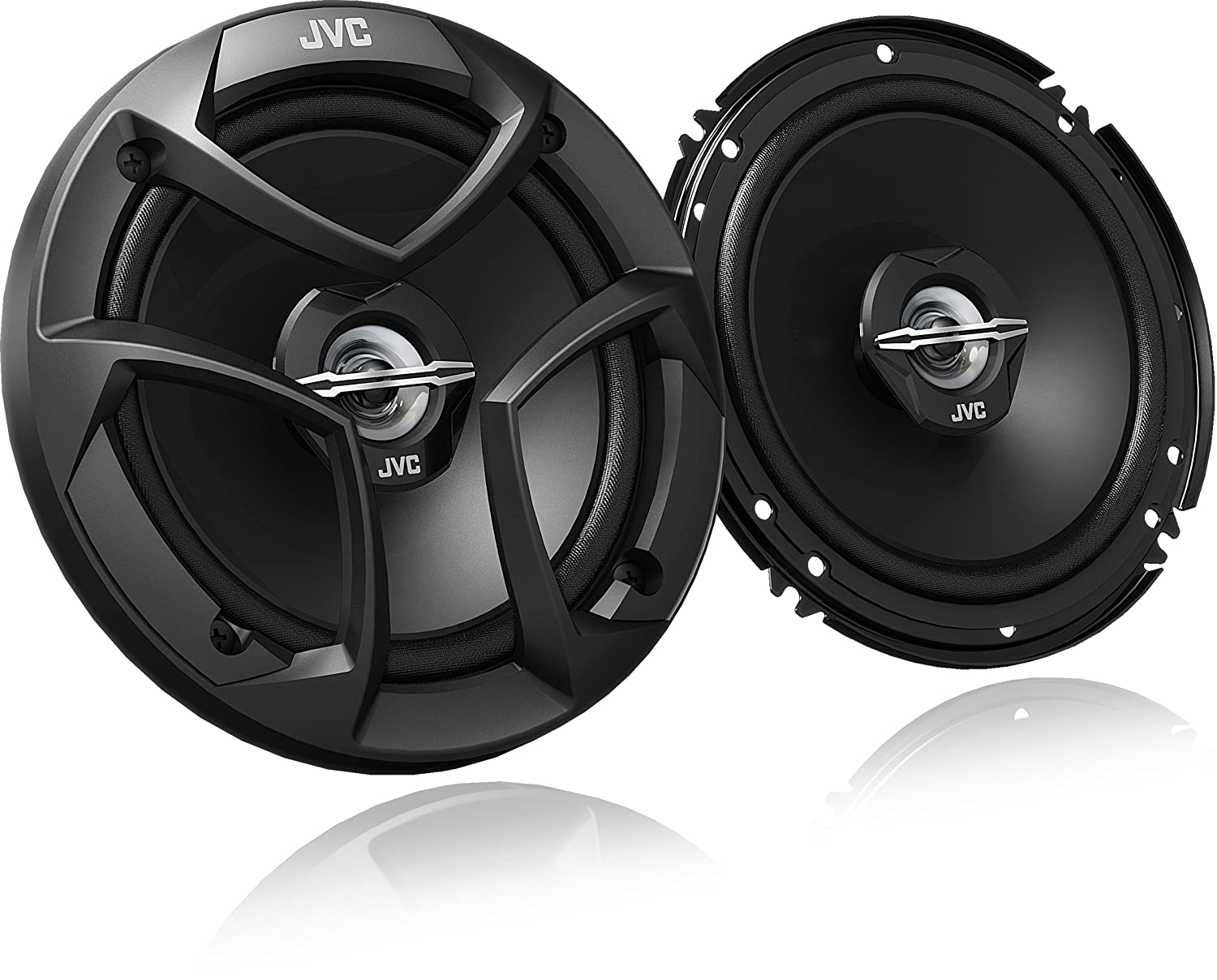 "JVC CS-J620 300W 6.5"" CS Series 2-Way Coaxial Car Speakers}"