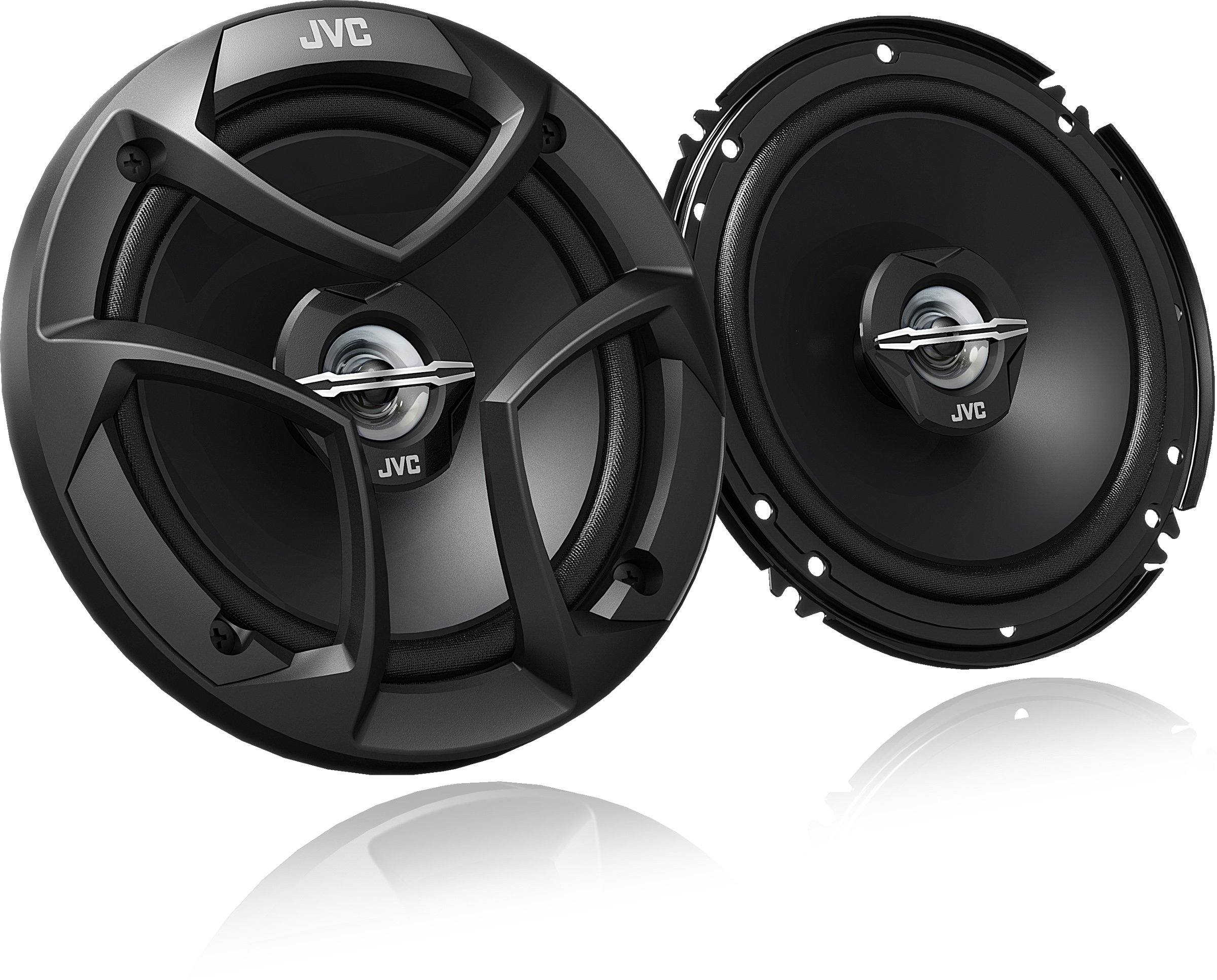 JVC CS-J620 300W 6.5'' CS Series 2-Way Coaxial Car Speakers, Set of 2