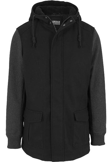4 opinioni per Urban Classics Contrast giacca da uomo con cappuccio