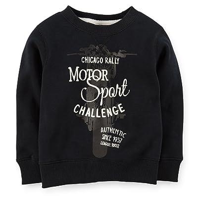 Carter's Little Boys' Fleece Motor Sport Pullover