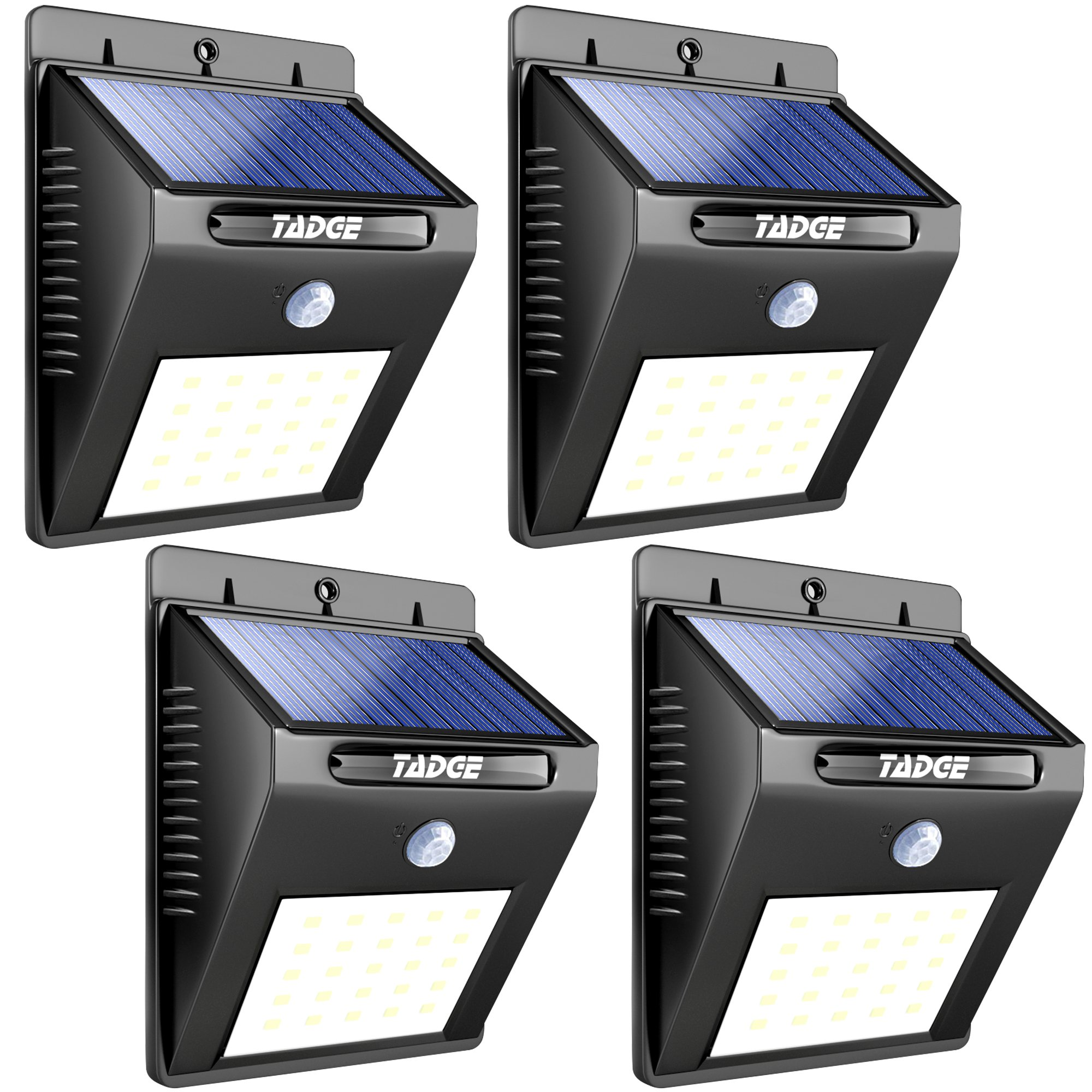 [25 LED] Solar Outdoor Patio Deck Lights – SUPER BRIGHT ...