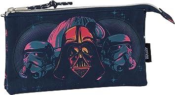 safta 812001744 Estuche portatodo Triple Escolar Star Wars, Multicolor: Amazon.es: Equipaje