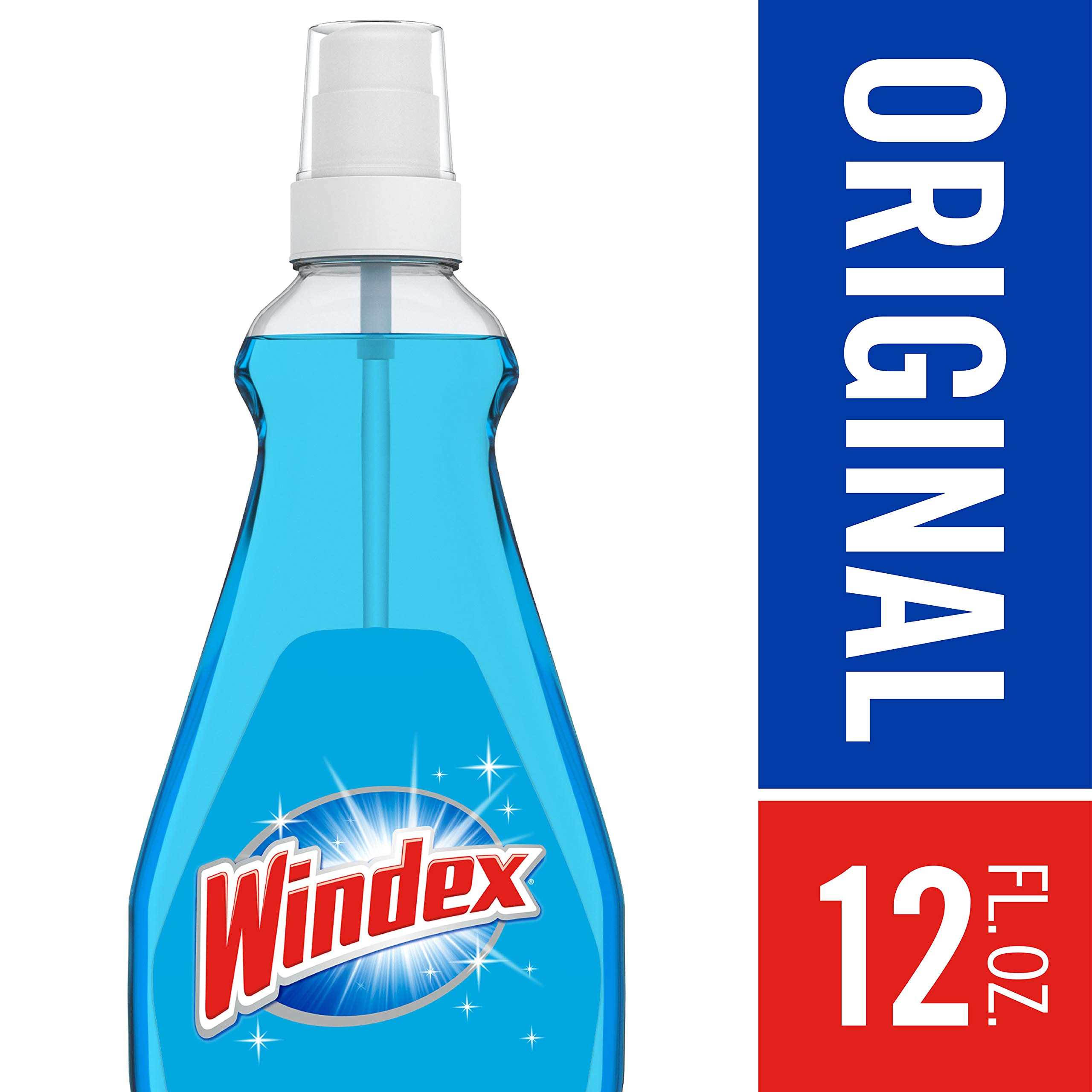 Windex Glass Cleaner with Sprayer, 12 fl oz
