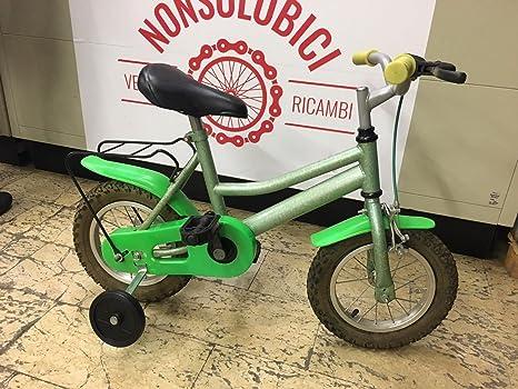 Bicicletta Mtb Bimba Bambina 12 Con Rotelle