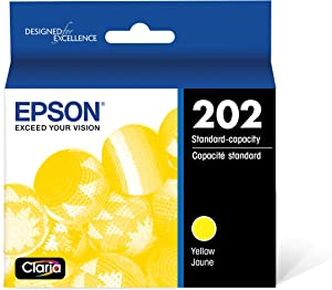 Epson T202 Claria Standard-Capacity Ink Cartridge - Yellow (T202420-S)