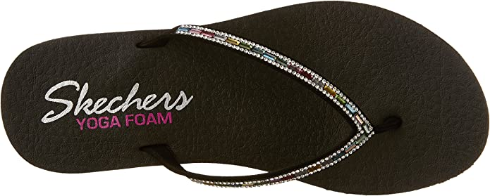 Skechers Womens Meditation - Desert Princess Flip-Flop