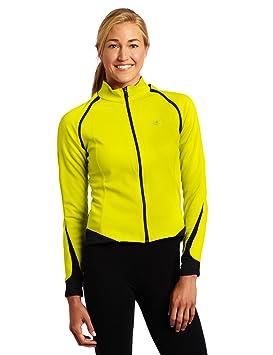 Gore Bike Wear Phantom windstopper® Chaqueta para mujer, Softshell, color amarillo fluorescente, negro, 46: Amazon.es: Deportes y aire libre