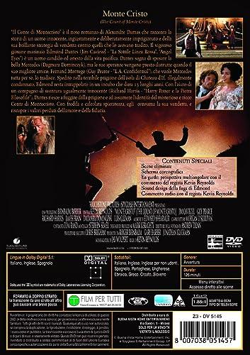 Monte Cristo It Import Amazon De Richard Harris Jim Caviezel