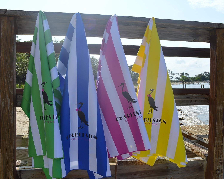 XL Charleston Outfitters COMIN18JU086296 Yellow Microfiber Beach Towel