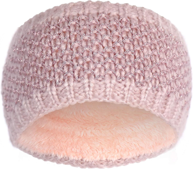 Knit Warm Winter Headband-...