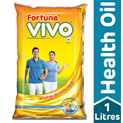 Fortune Vivo Diabetes Care Oil Pouch, 1L