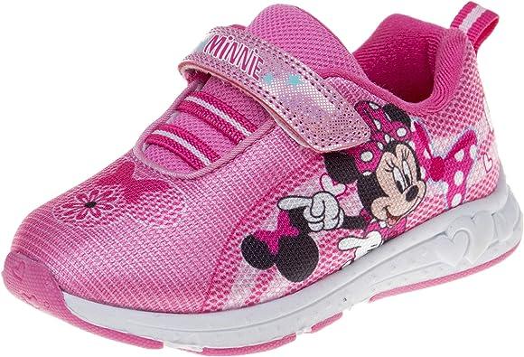 Disney Boy's Minnie Sneaker, Pink
