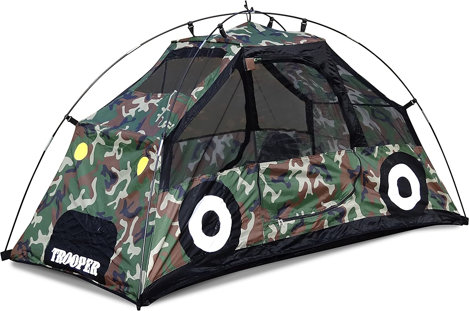 GigaTent Camouflage 2 Doors MUV Polyester Car Playhouse Includes Carry Case