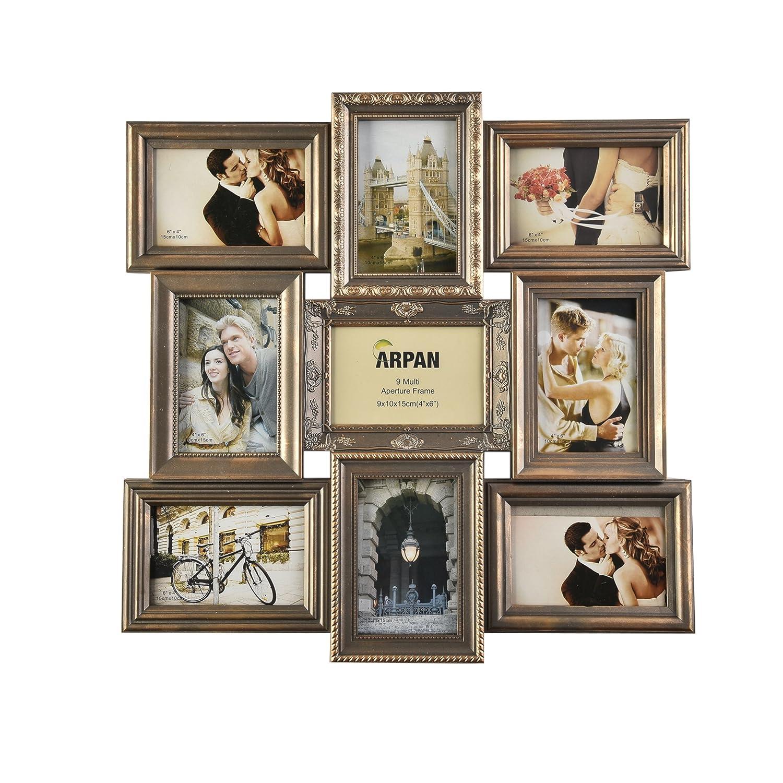 Amazon.de: ARPAN Bilderrahmen, verschiedene Größen, Vintage-Stil ...