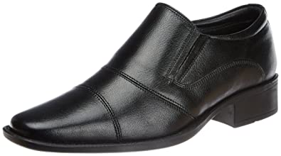 d491aeec232fb Hush Puppies Men's Hpo2 Flex Black Leather Formal Shoes - 10 UK/India (44