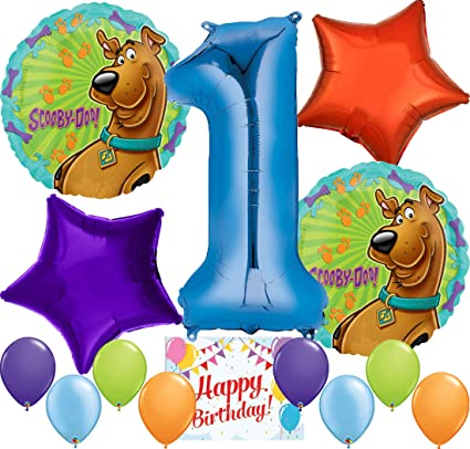 Scooby Doo Party Supplies Fun Balloon Decoration Birthday Bundle