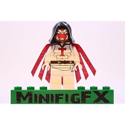 LEGO Custom Azrael Minifig DC Comics Batman Villain: Toys & Games